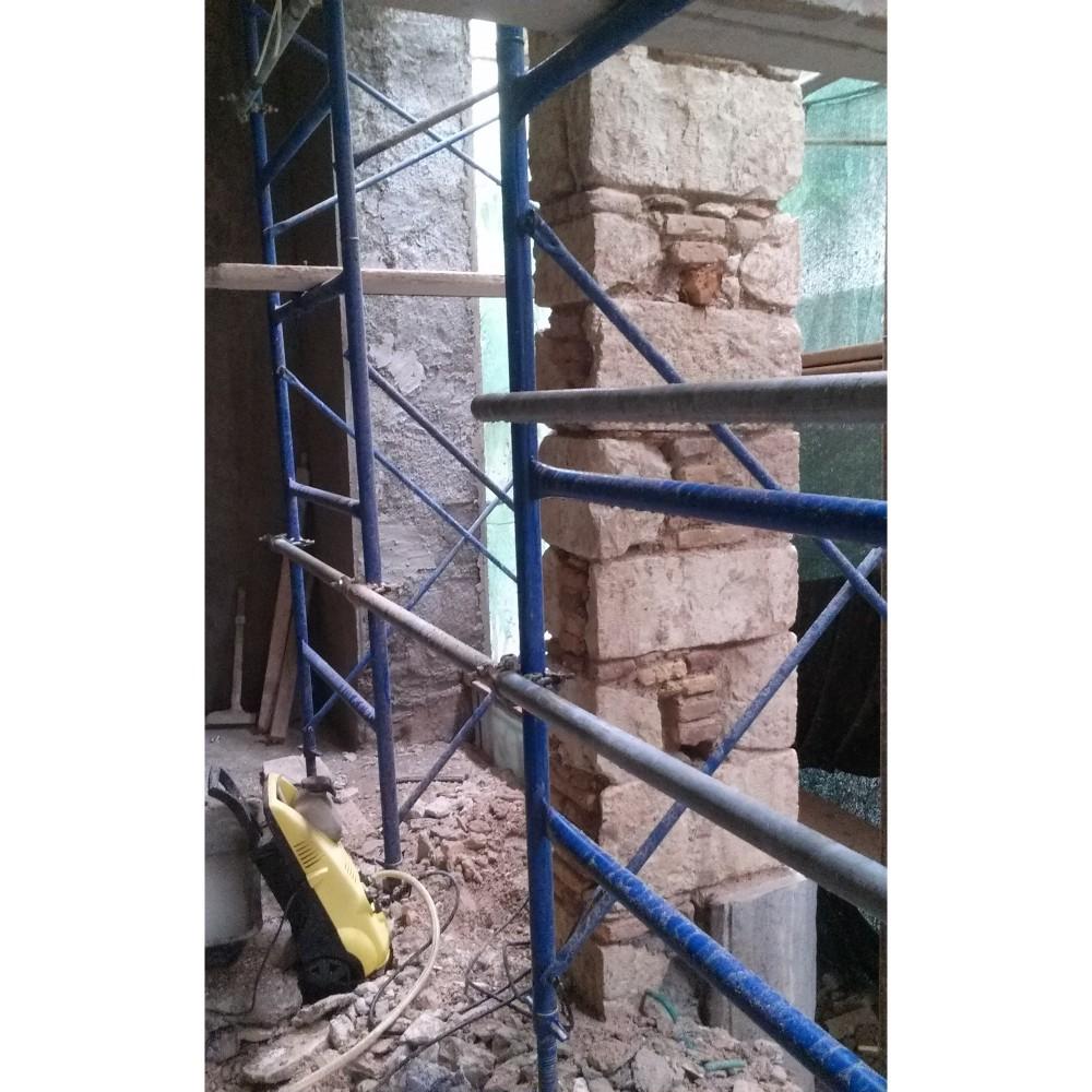 Ενισχύσεις Διατηρητέου Κτιρίου_Πλάκα